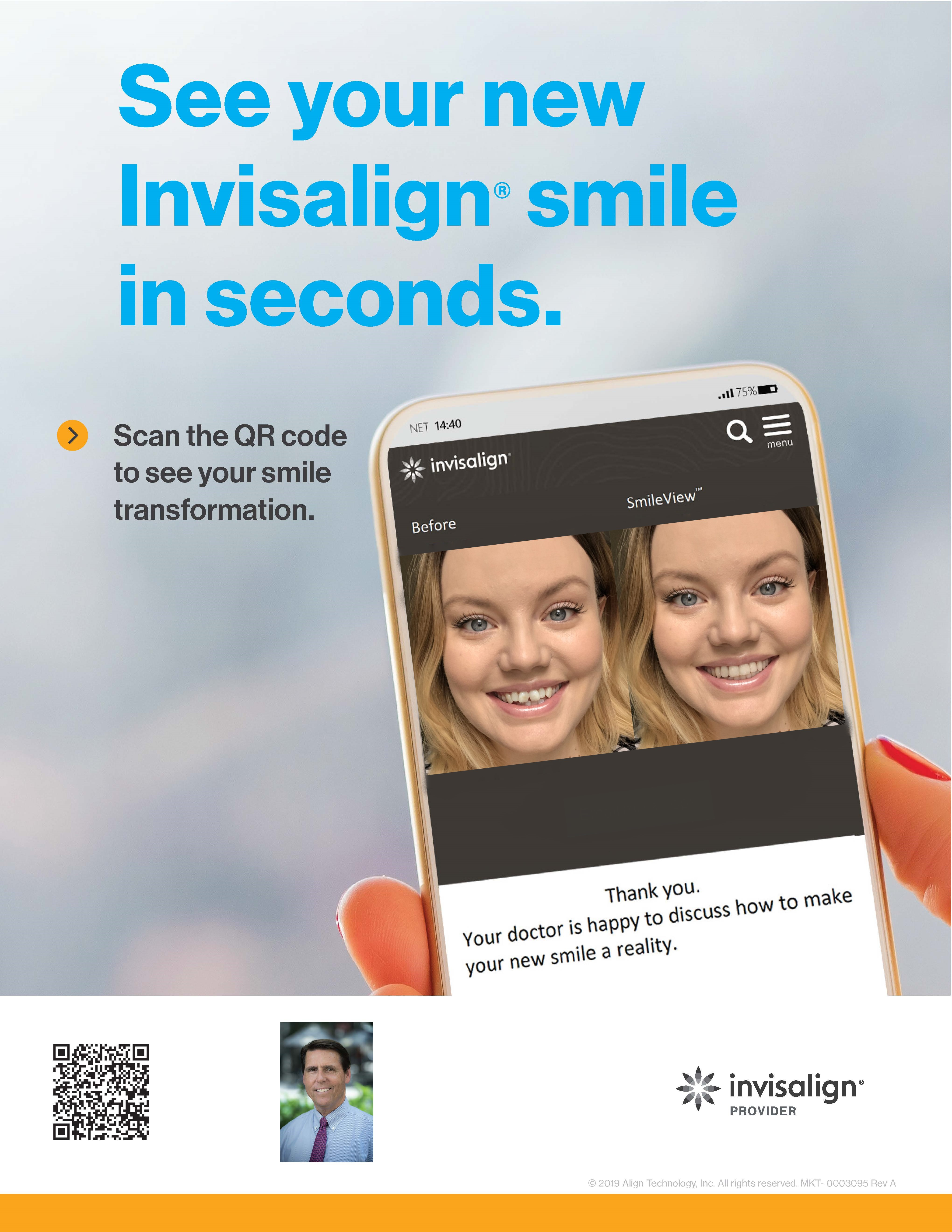 See Your New Invisalign® Smile in Seconds